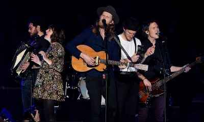 The Lumineers photo by Kevin Winter and Getty Images for KROQ