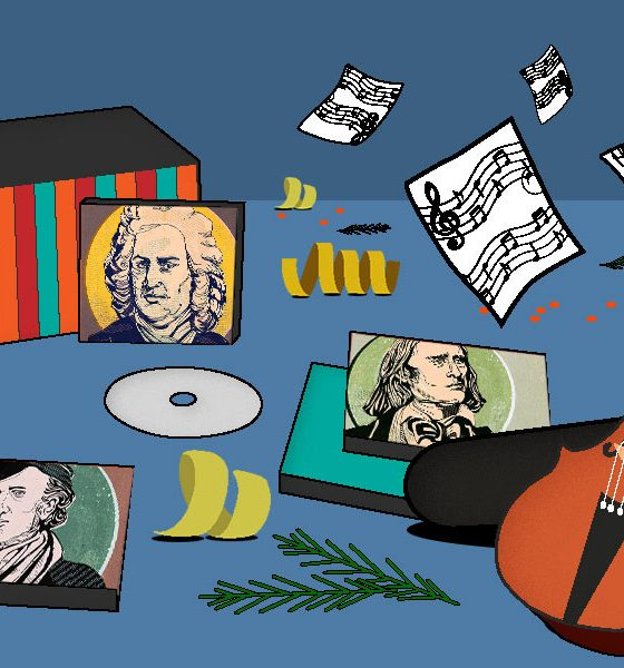 Best Classical Music Christmas Gifts - featured image