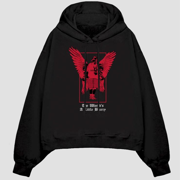 Billie's Angel Hooded Sweatshirt
