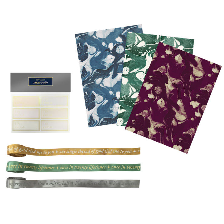 folklore-album-gift-wrapping-set