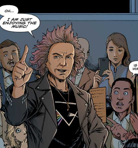Excerpt from Beethoven graphic novel The Final Symphony: A Beethoven Anthology