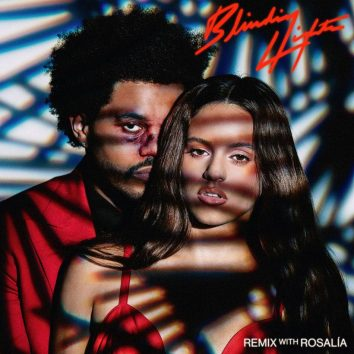 The-Weeknd-Rosalia-Blinding-Lights-Remix