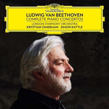 Krystian Zimerman Beethoven Complete Piano Concertos cover
