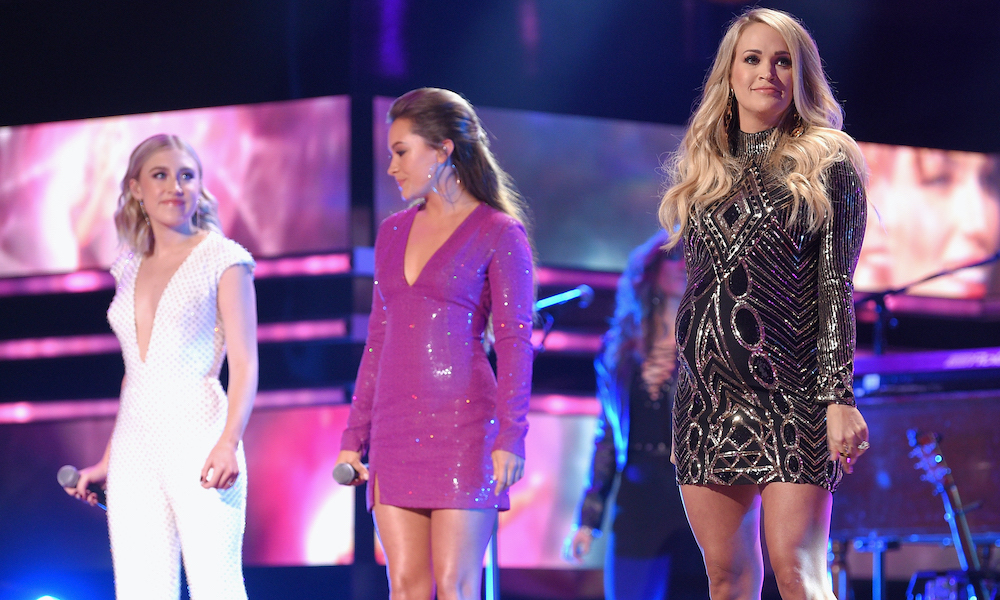 Maddie Tae Carrie Underwood GettyImages 1052418050