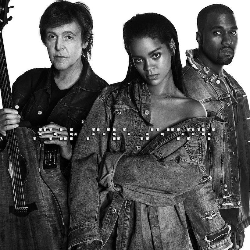 McCartney Rihanna Kanye FourFiveSeconds