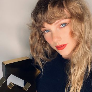Taylor Swift Official Number 1 Award Evermore credit OCC