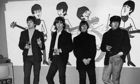 Beatles cartoon GettyImages 460221539