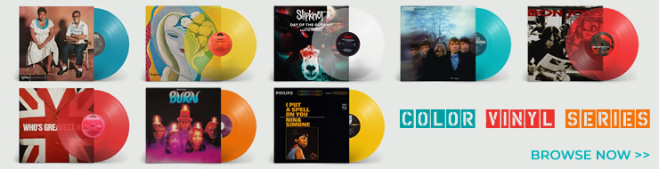 uDiscover Music - Color Vinyl Series