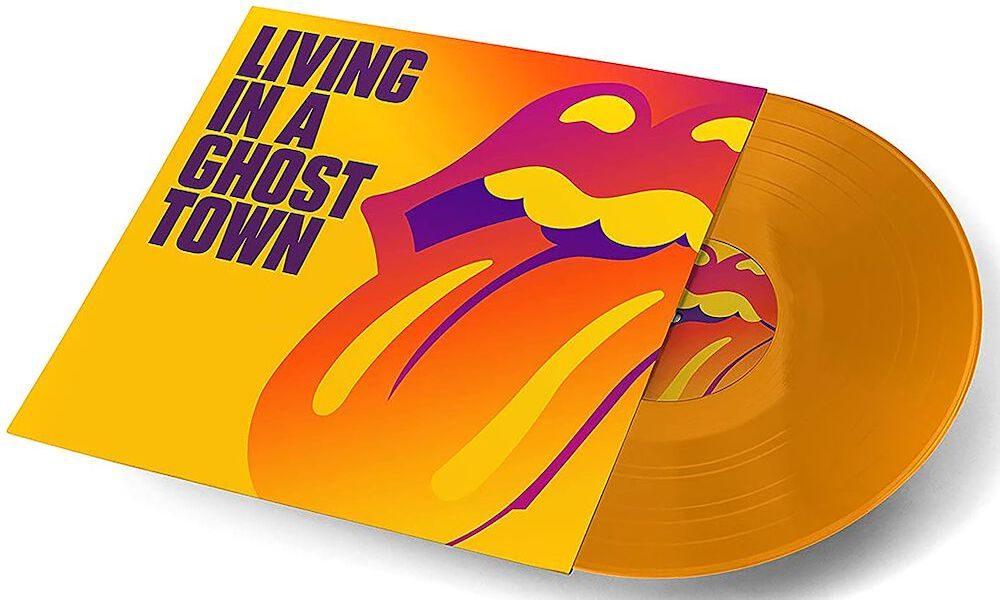 Rolling Stones Ghost Town orange vinyl