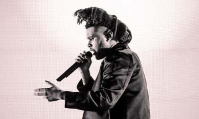 The Weeknd, singer of Can't Feel My Face, in 2015