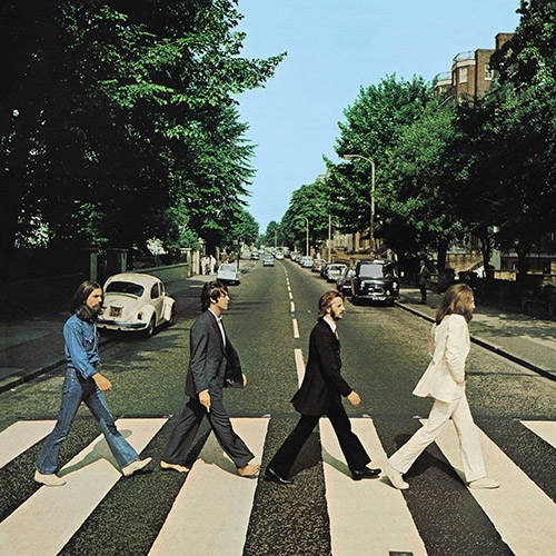 Beatles album cover for Abbey Road