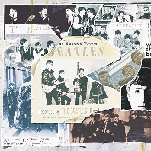 Beatles album cover for Anthology 1