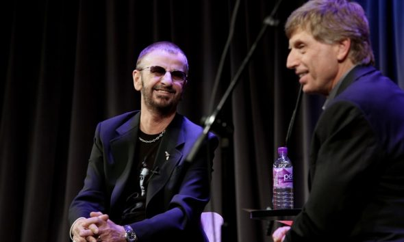 Ringo Starr and Bob Santelli- Rebecca Sapp-WireImages