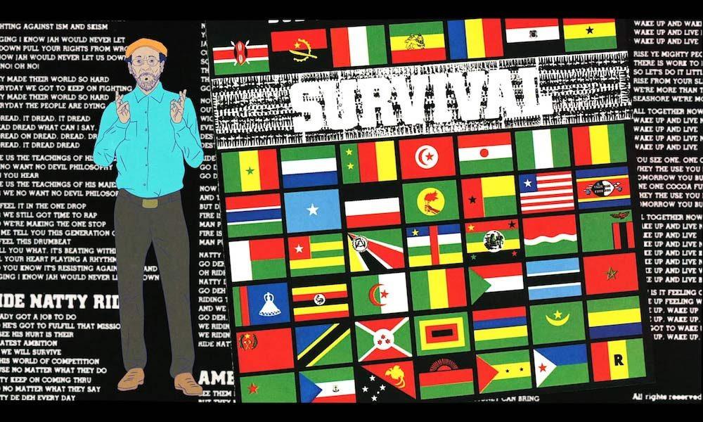Bob Marley Survival cover
