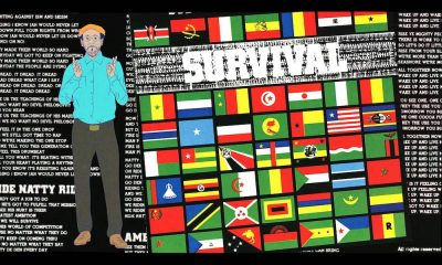 Bob Marley Survival cover