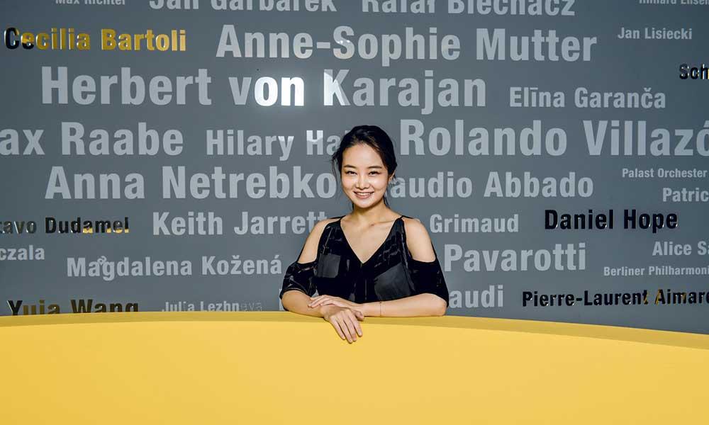 Violinist Bomsori Kim photo