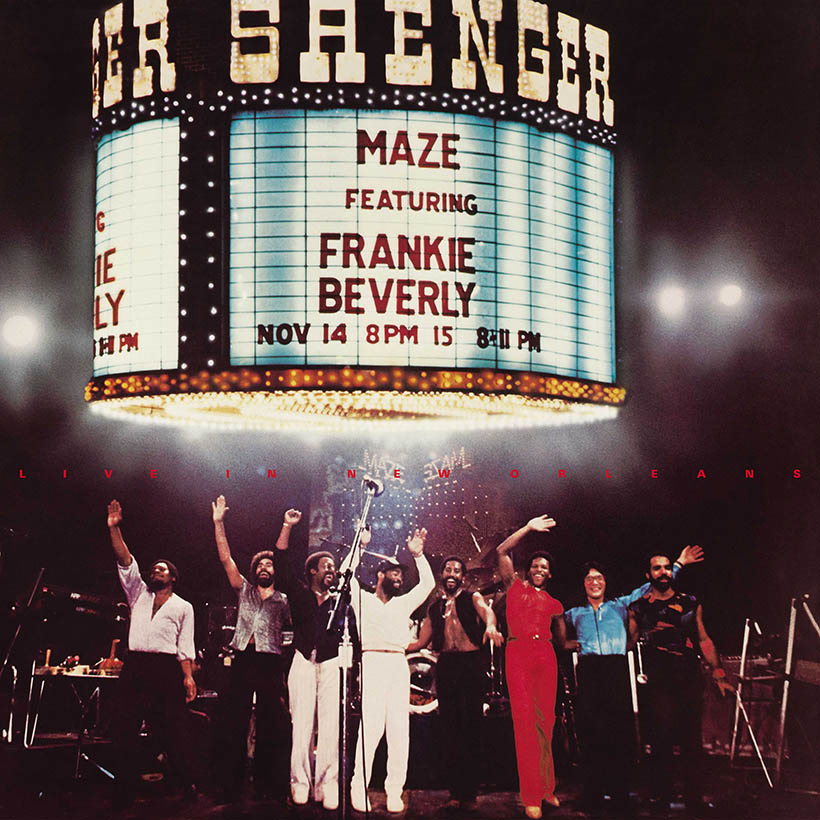 Maze featuring Frankie Beverly Live In New Orleans