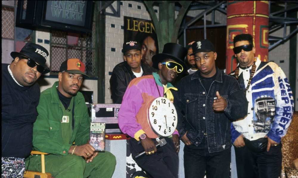 Public Enemy at Yo! MTV RAPs-Al Pereira-GettyImages