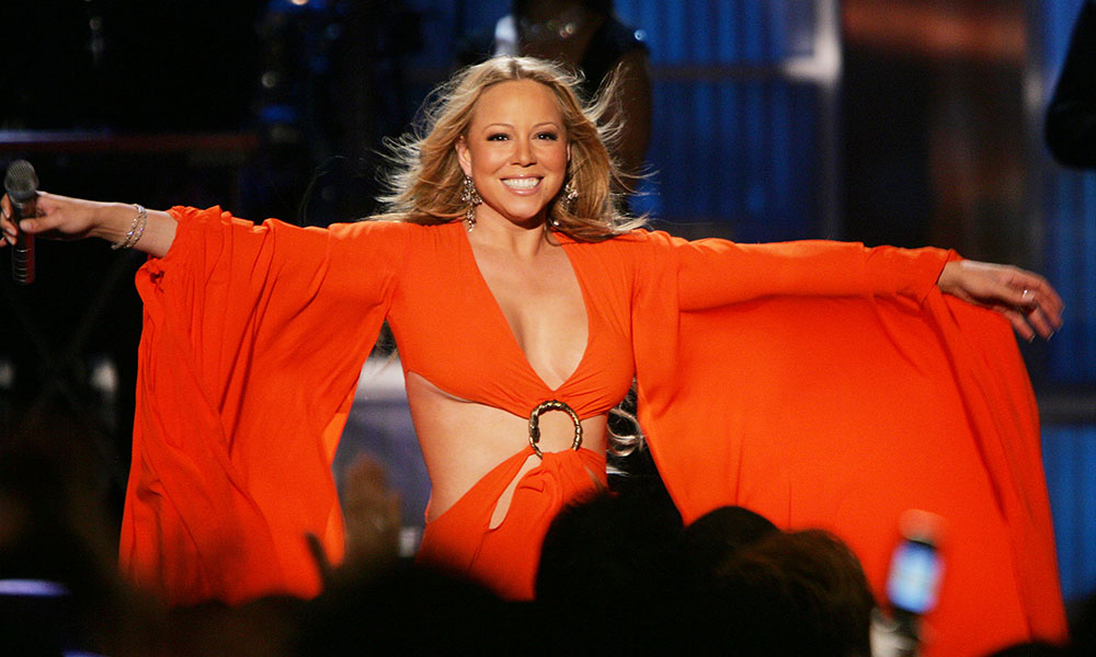 Mariah Carey, singer of We Belong Together