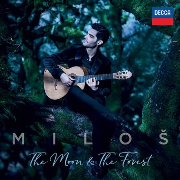Milos The Moon and The Forest album cover