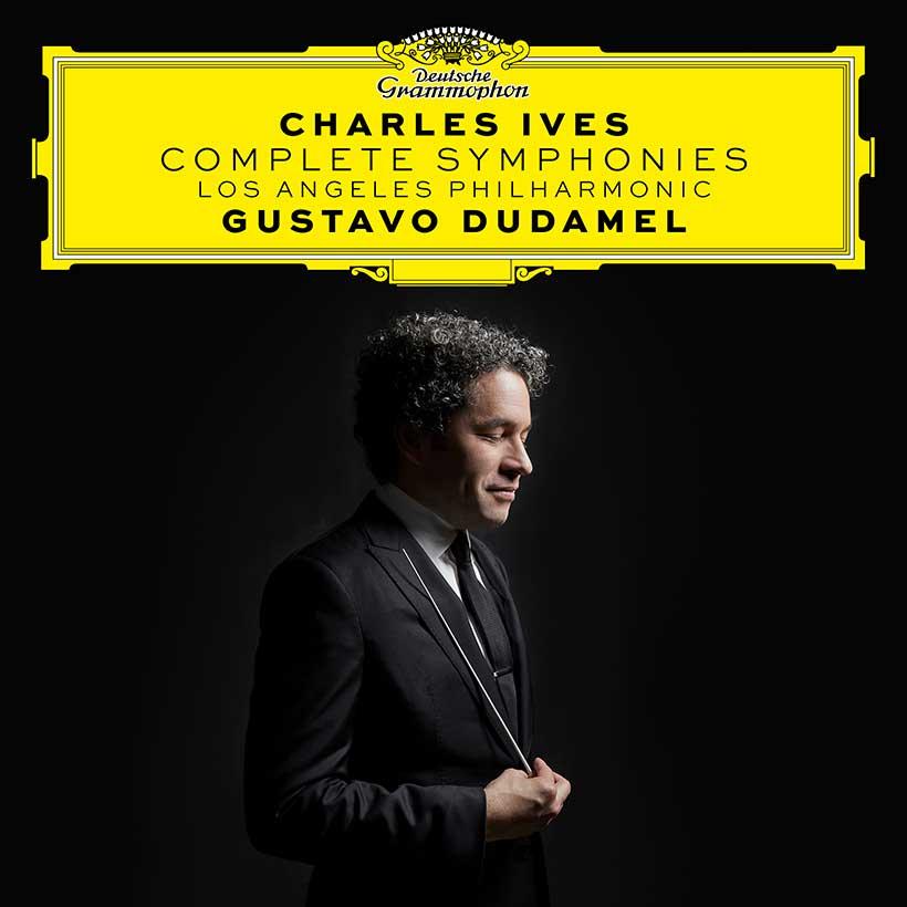 Gustavo Dudamel Los Angeles Philharmonic Charles Ives Complete Symphonies album cover