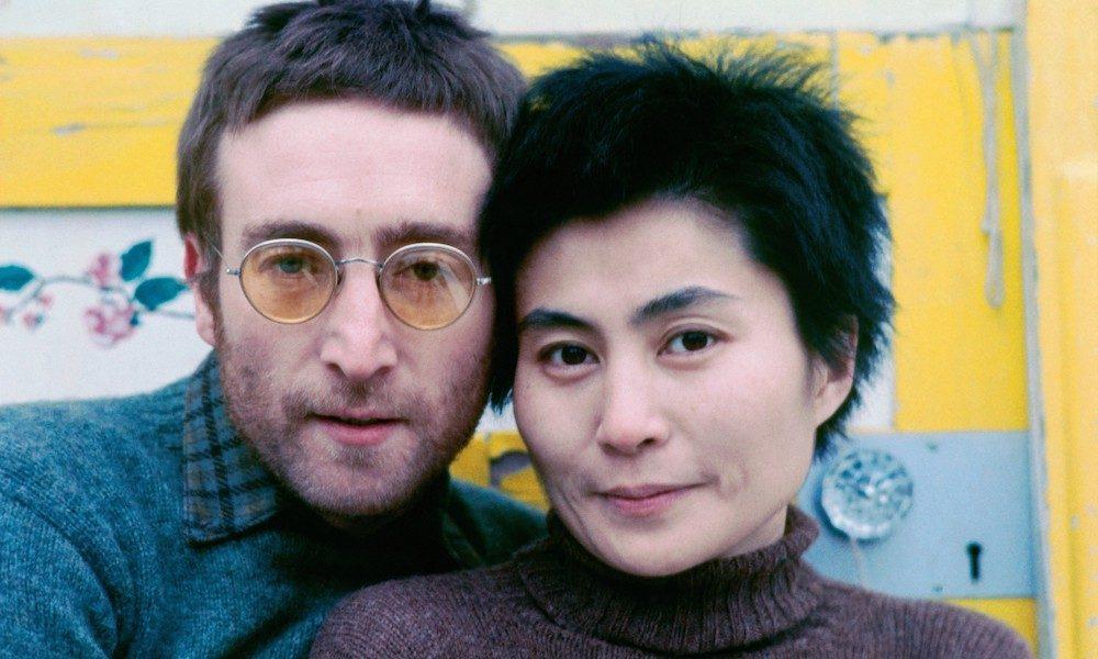 Working Class Hero writer John Lennon & Yoko Ono 1970 credit Richard DiLello © Yoko Ono