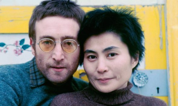 Working Class Hero writer John Lennon & Yoko Ono 1970 credit Richard DiLello © Yoko Ono