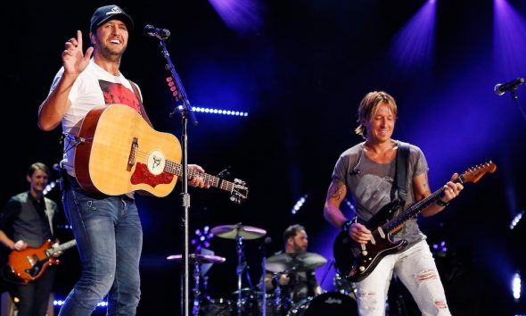 Luke Bryan and Keith Urban CMA Fest