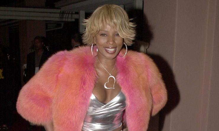 Mary J. Blige style