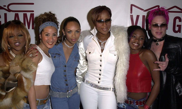 Mary J. Blige and Lil Kim