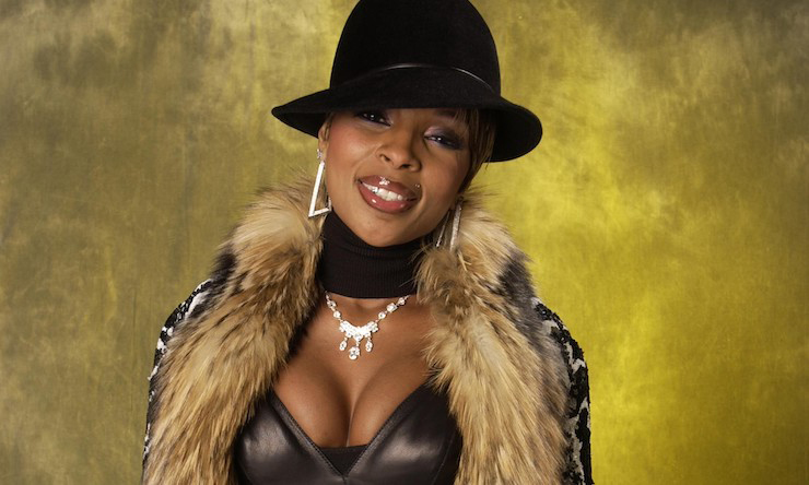Mary J. Blige fashion photos
