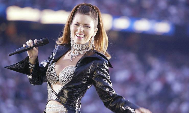 Shania Twain Super Bowl