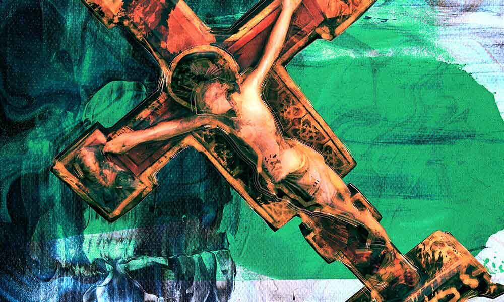 Bach St John Passion - featured image of Christ on the cross