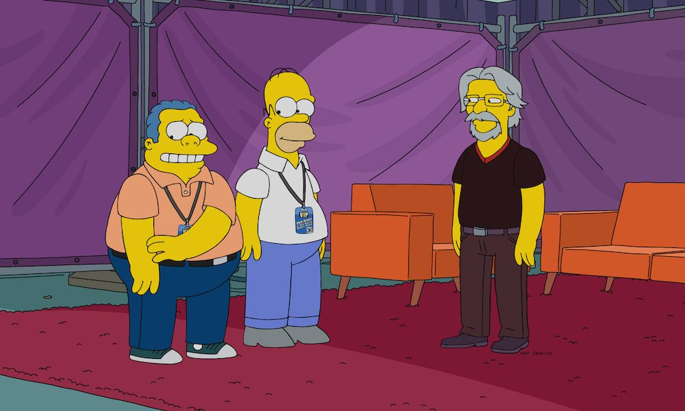 The simpsons musical guests
