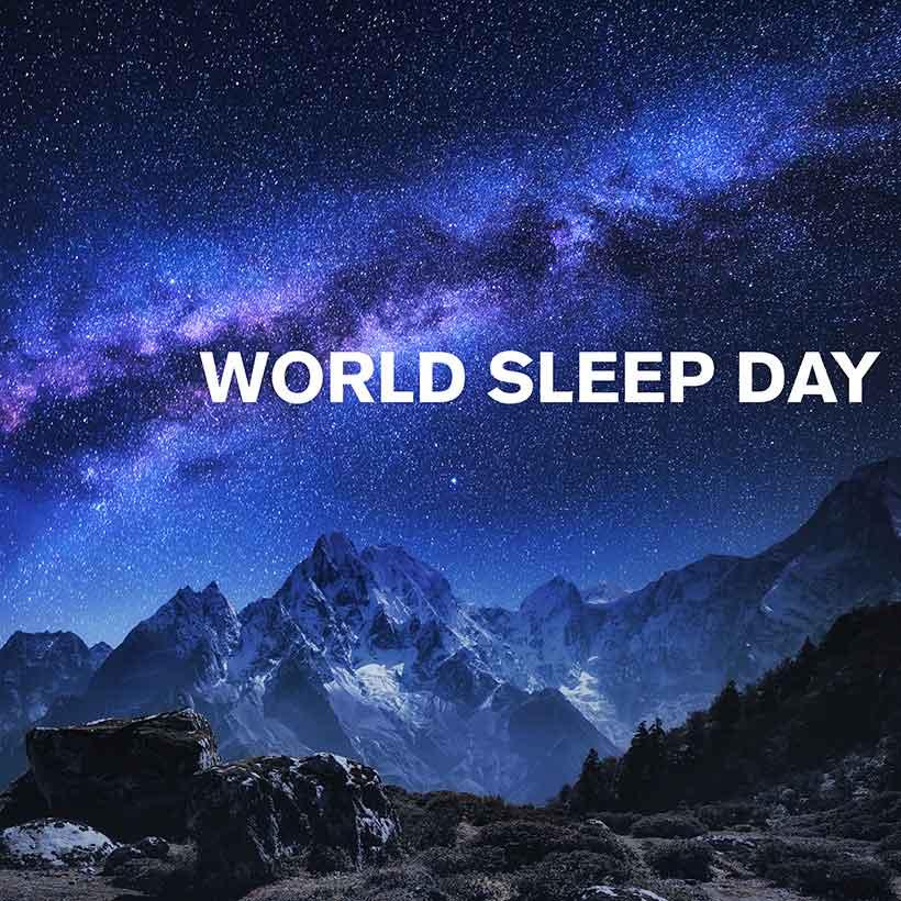 World Sleep Day playlist cover