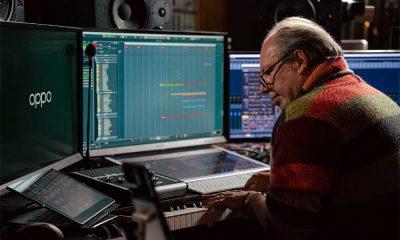 Hans Zimmer studio photo