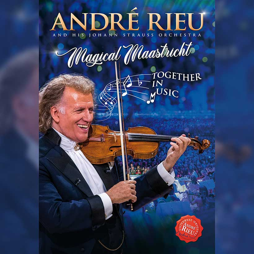 Andre Rieu Magical Maastricht DVD cover