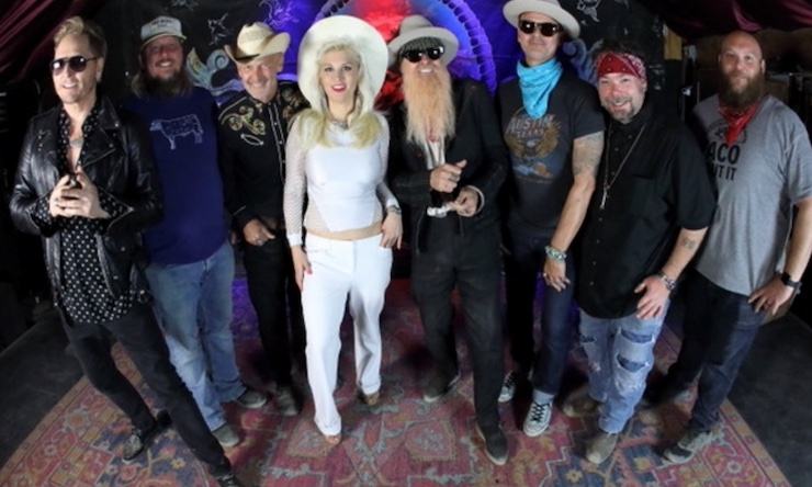 Billy Gibbons video cast credit Harry Reese