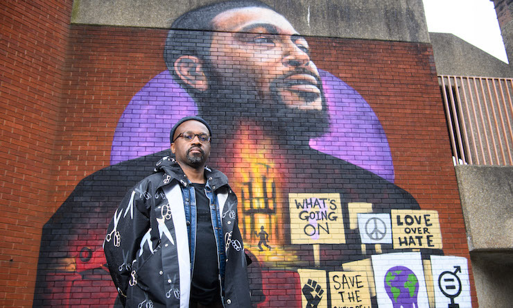 Marvin Gaye What's Going On Mural