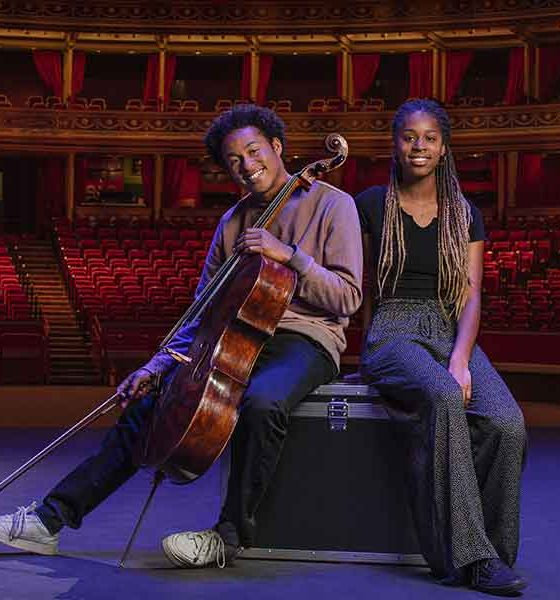 Sheku and Jeneba Kanneh-Mason at BBC Proms 2021