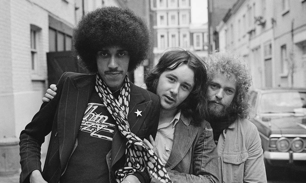 Thin Lizzy, the band that had a hit with Whiskey in the Jar