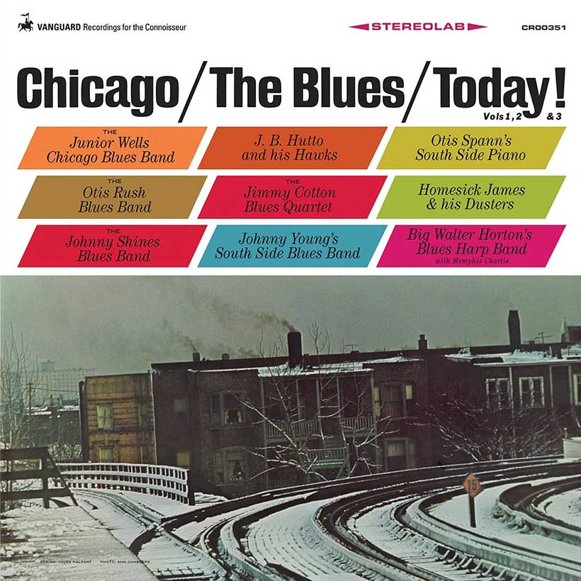 Chicago - The Blues - Today cover