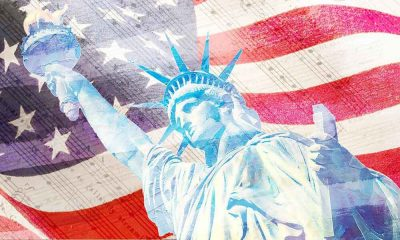 Best classical music for Independence Day - featured image of stars and stripes