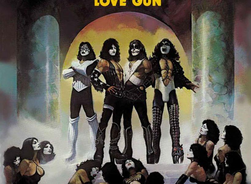 KISS Love Gun cover