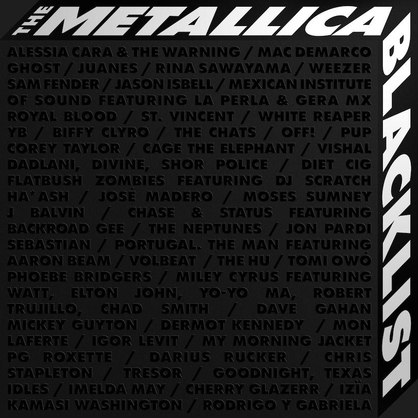 Metallica Announces Black Album' Reissue, Blacklist Covers Album
