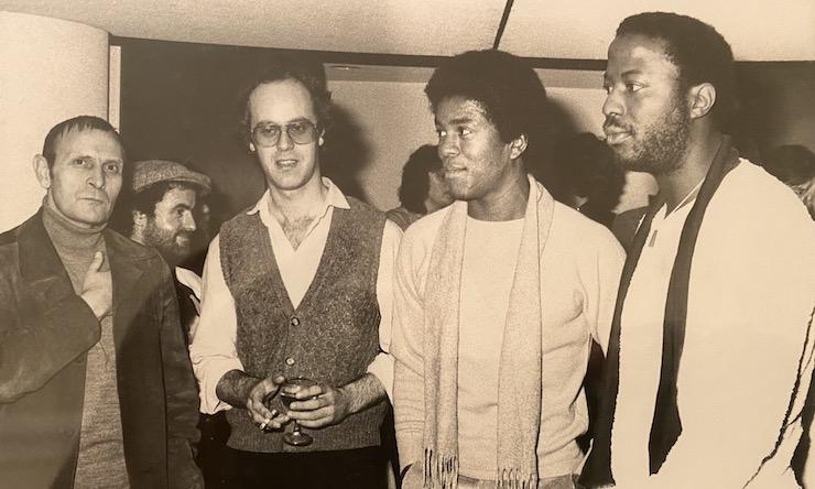Motown EMI office Dec 1980