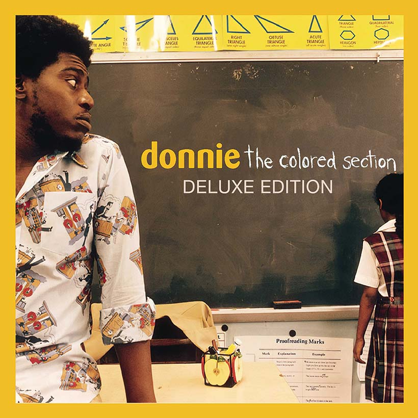 Donnie The Colored Section album cover