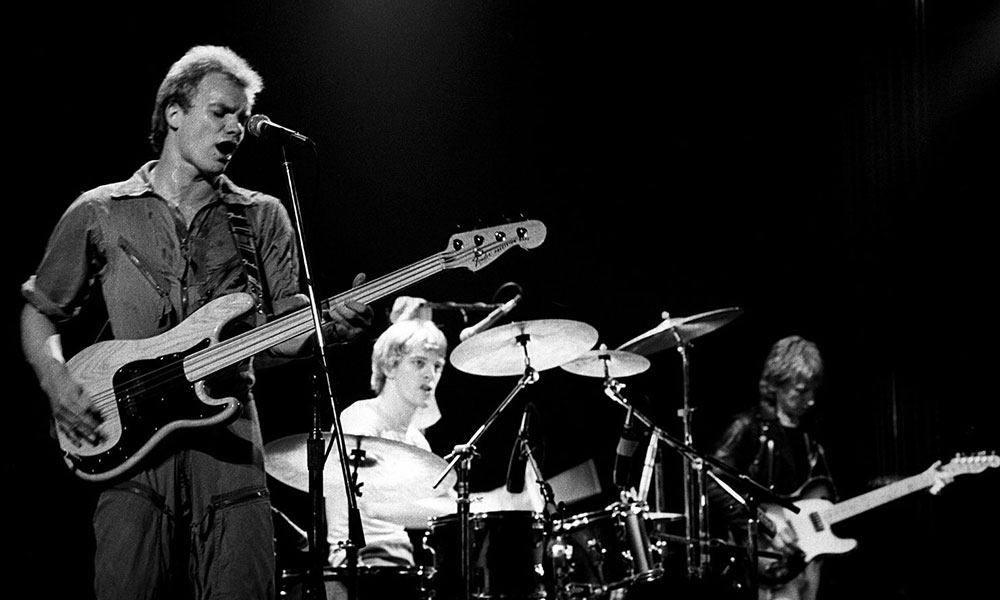 The Police live photo by Richard E Aaron and Redferns