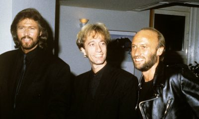 The Bee Gees, artists behind You Win Again, in the late 80s