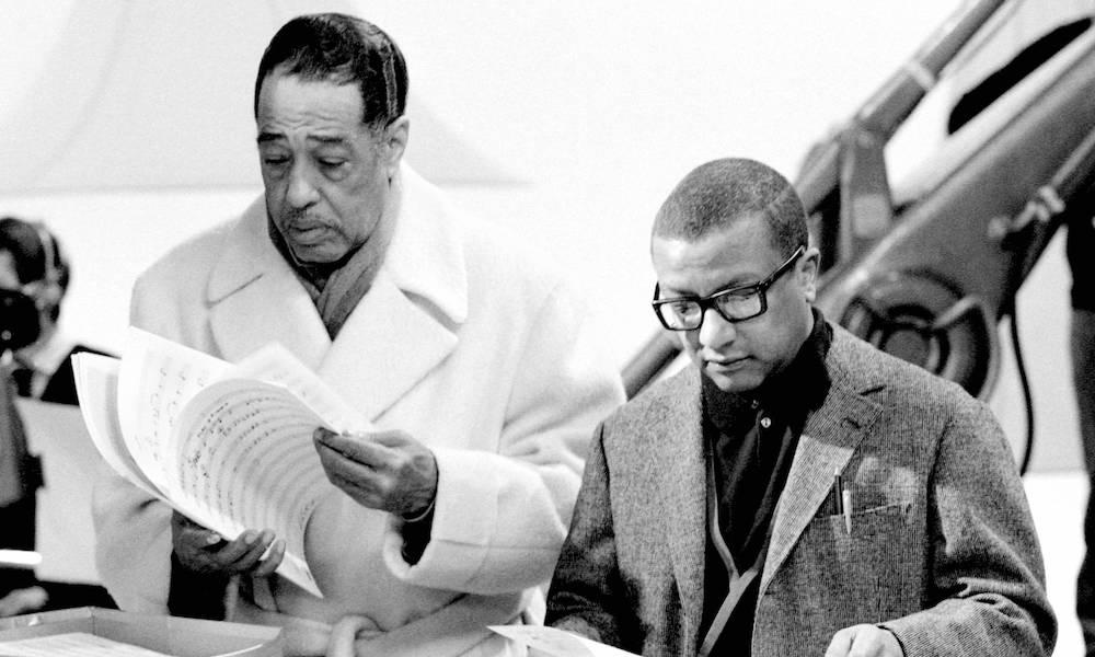 Billy Strayhorn and Duke Ellington